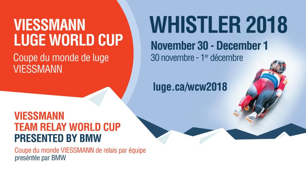 Luge World Cup 2018