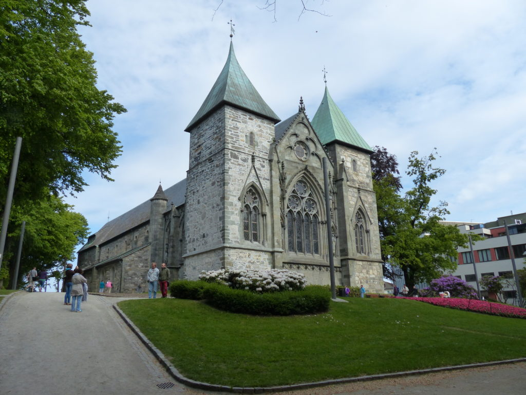 Cathedral in the centre of Town