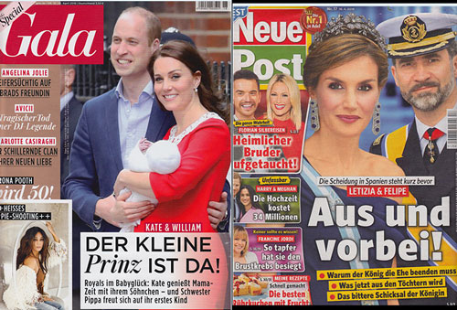 German Magazine Covers